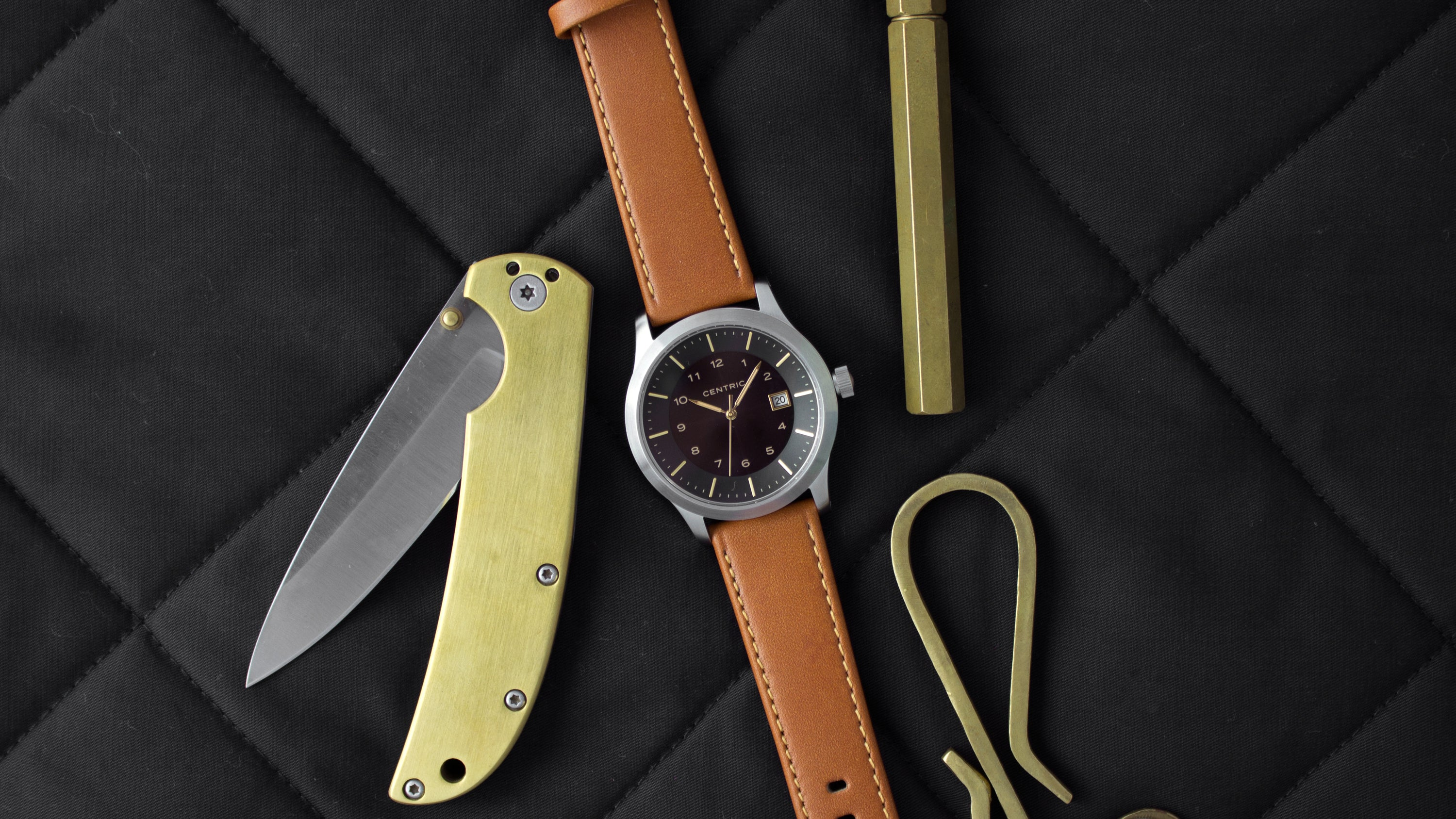 Tan Classic Leather Strap