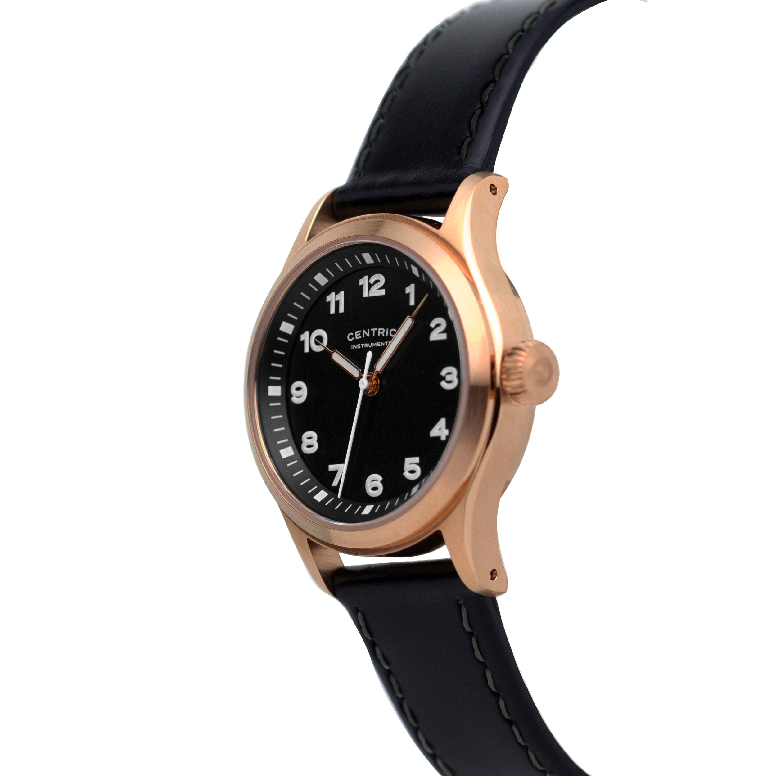 Field Watch MkIII (Rose Gold / Black)