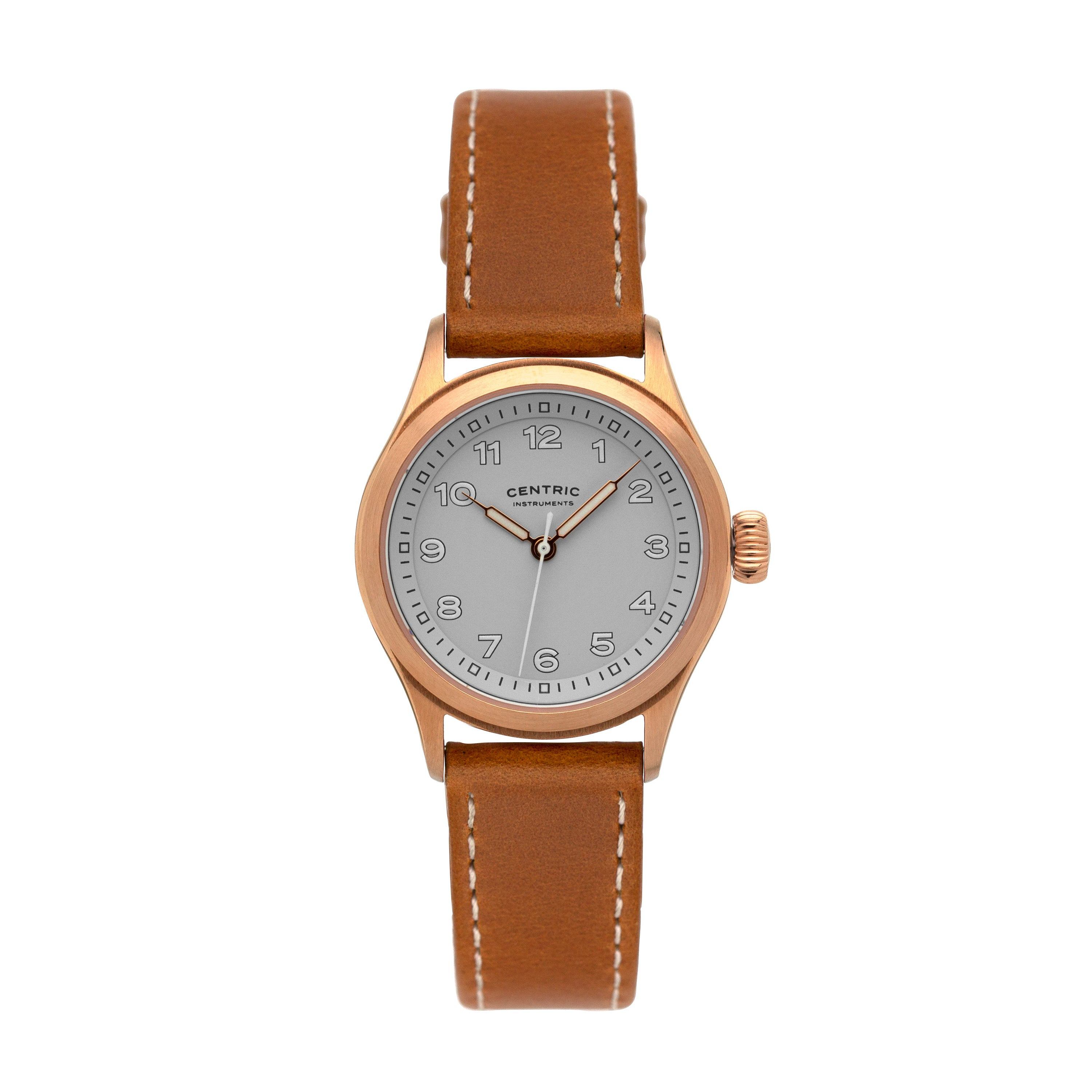 Field Watch MkIII (Rose Gold / White)