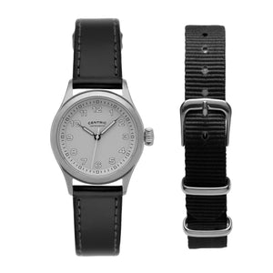 Field Watch MkIII (Steel / White)