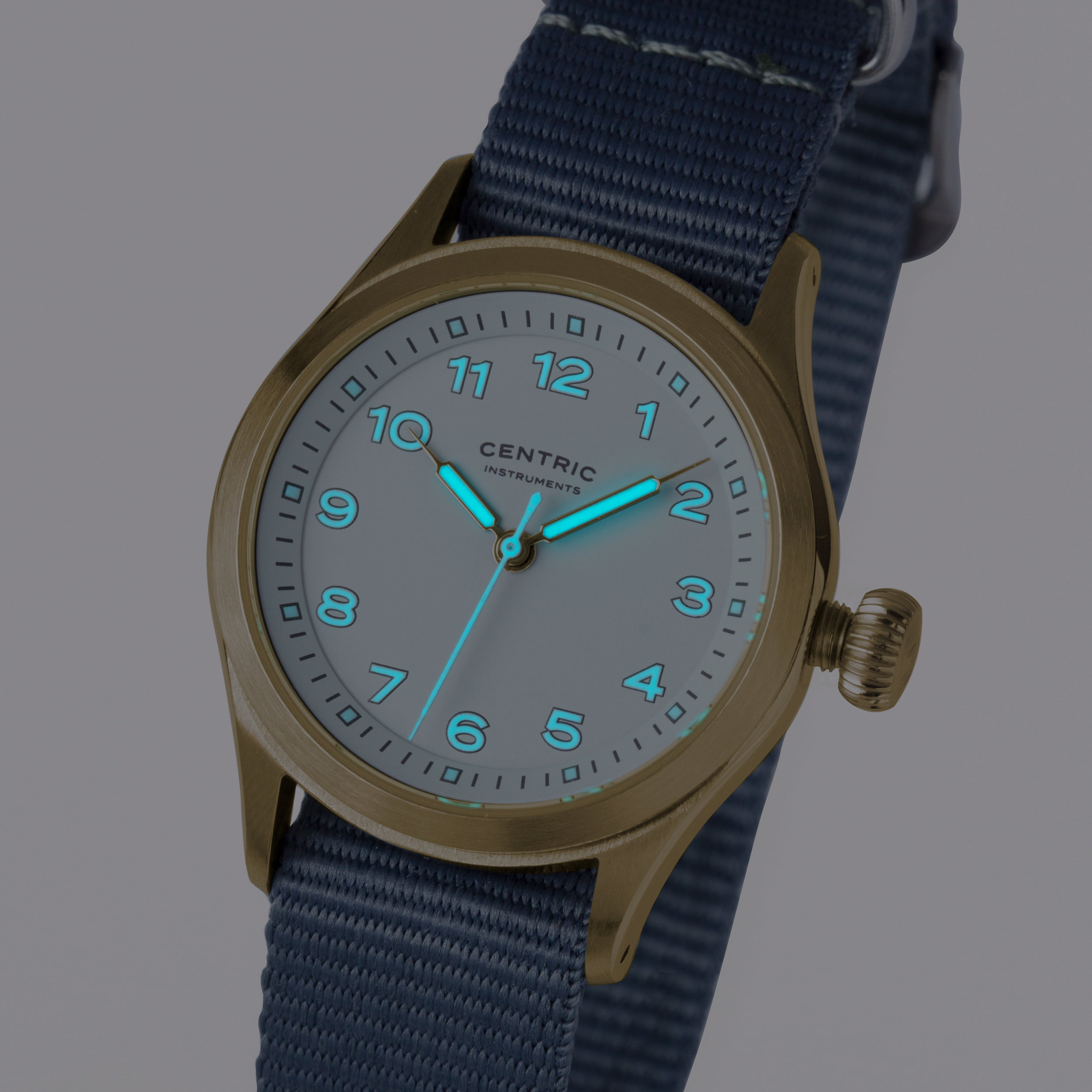 Field Watch MkIII (Gold / White)