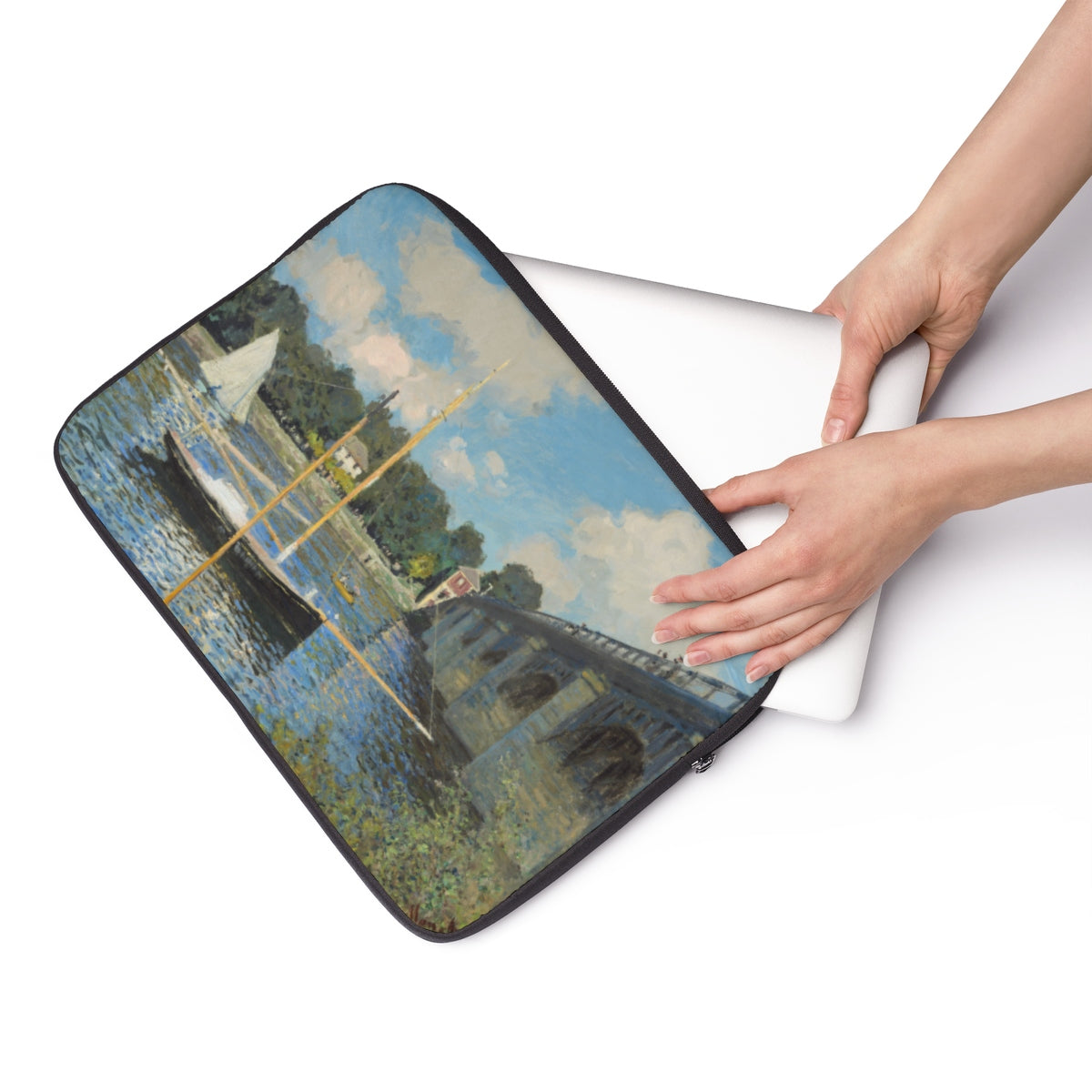 Laptop Sleeve With Claude Monet Artwork