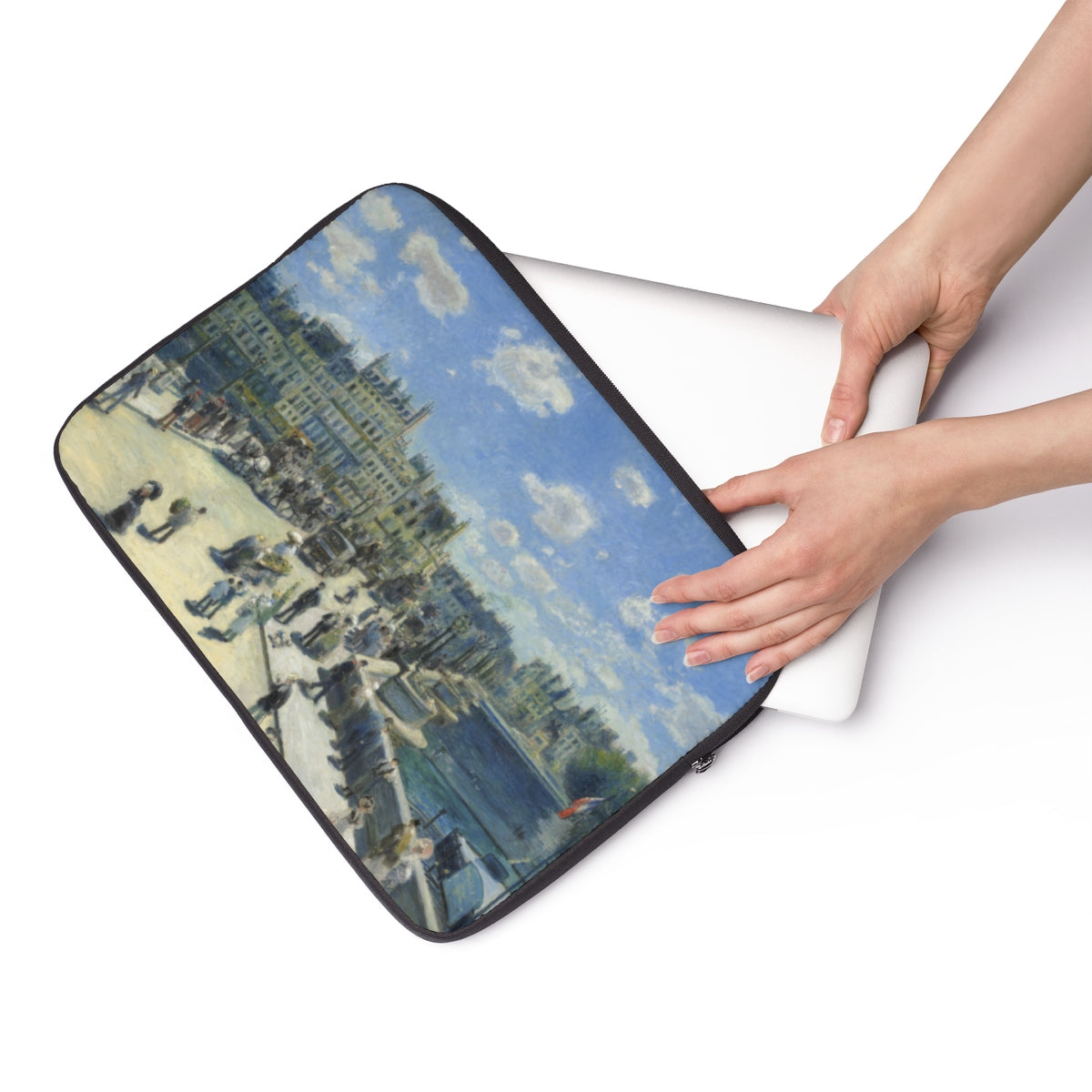 Laptop Sleeve With Auguste Renoir Artwork - justafive.com