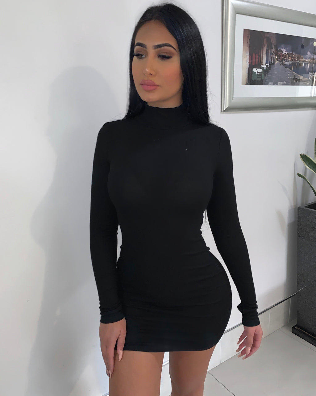 Jelena Dress - Black