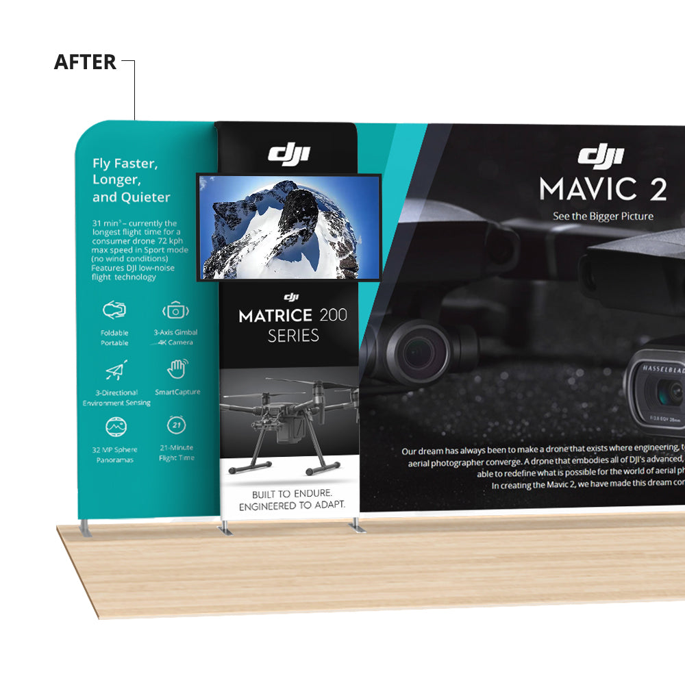 Show something new - Pro Monitor Banner makes your display walls alive!