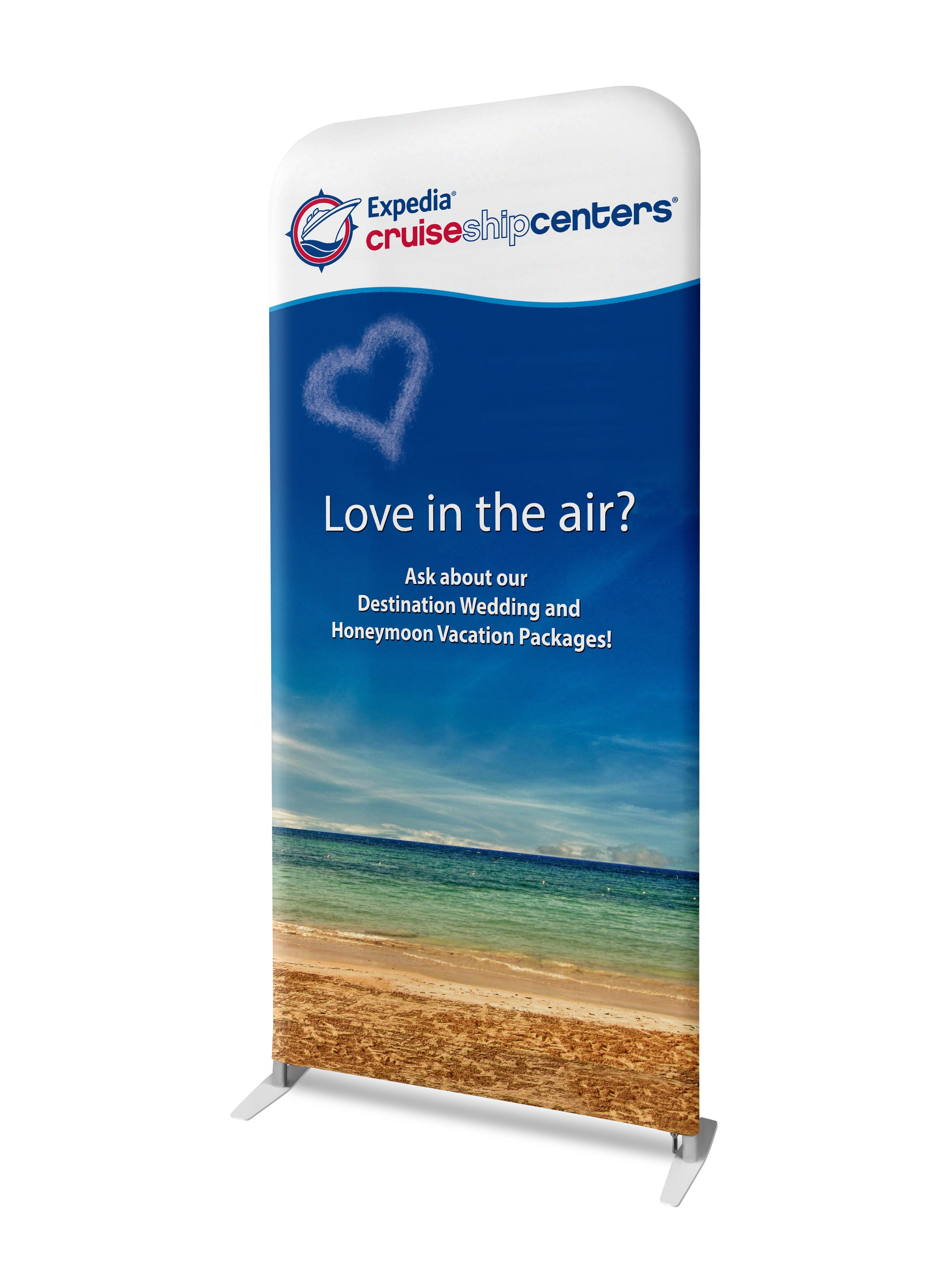 "Best trade show banner just 2"" thick"