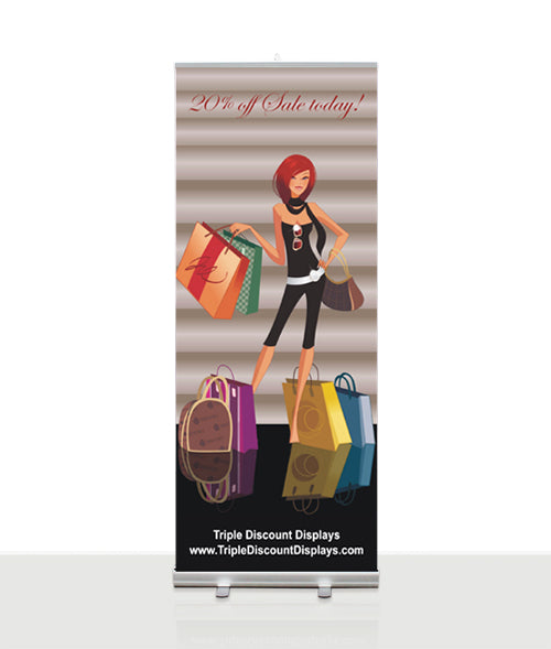 Awe Retractable banner included