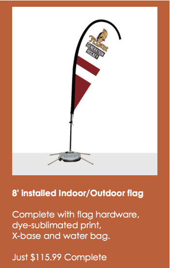Event flags on sale