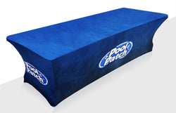 5 ft wide x 5 ft high Fabric Popup Tabletop Display