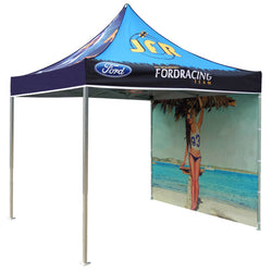 10 foot Straight EZ-ZIP Fabric Display