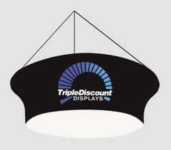 TRIANGULAR HANGING BANNER