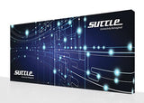 Super-tall 20 ft wide x 10 ft high fabric popup display