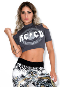Cropped Top Best Rock