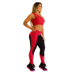 Legging Red Ellipse