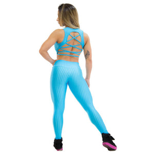 Legging Glazed Baby Blue""