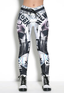 Legging Elastic New York Club - Musa Spirit