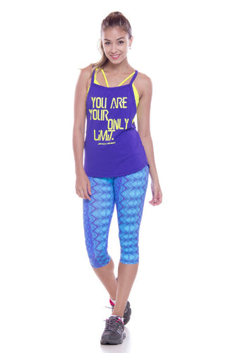 Crop Legging Smooth Prints