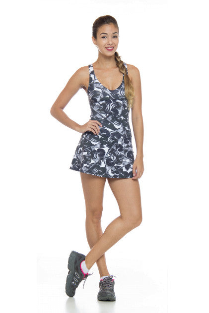 Short Skirt Jumpsuit Macaquinho Halter