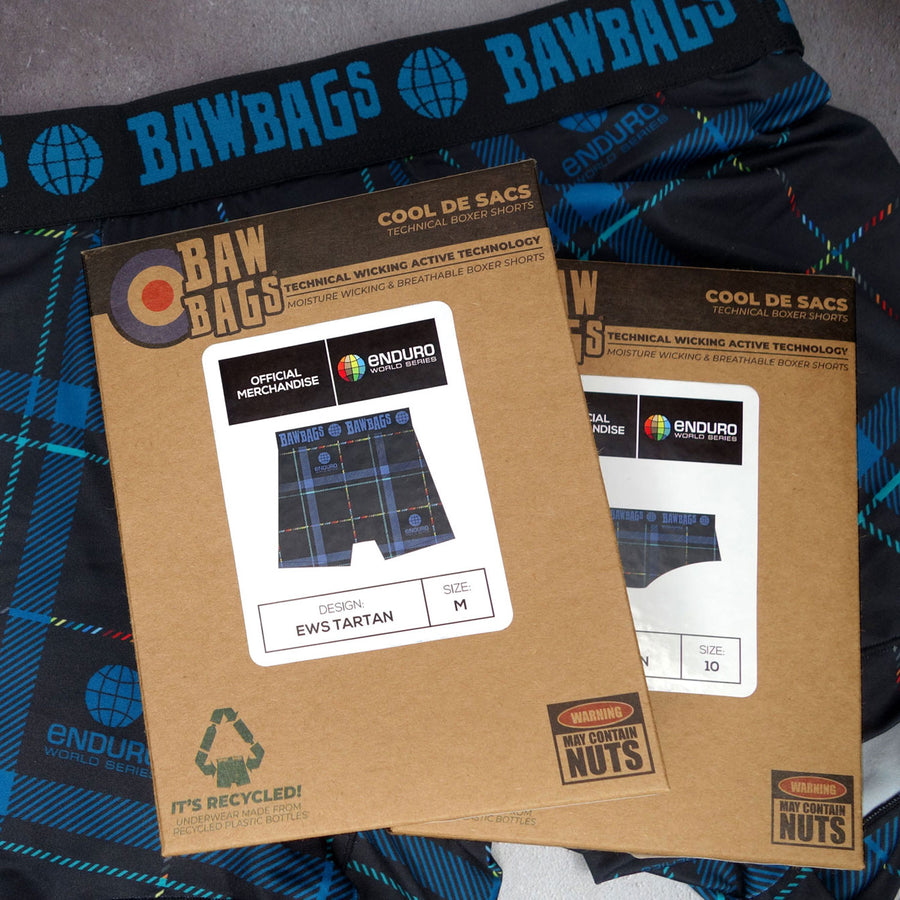 Bawbags x EWS Tweed Valley Tartan Men's Boxers
