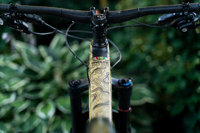 Dyed Bro Frame Protector Enduro World Series Contour Design