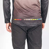 Stage Riding Jersey - Mens Grey Fade