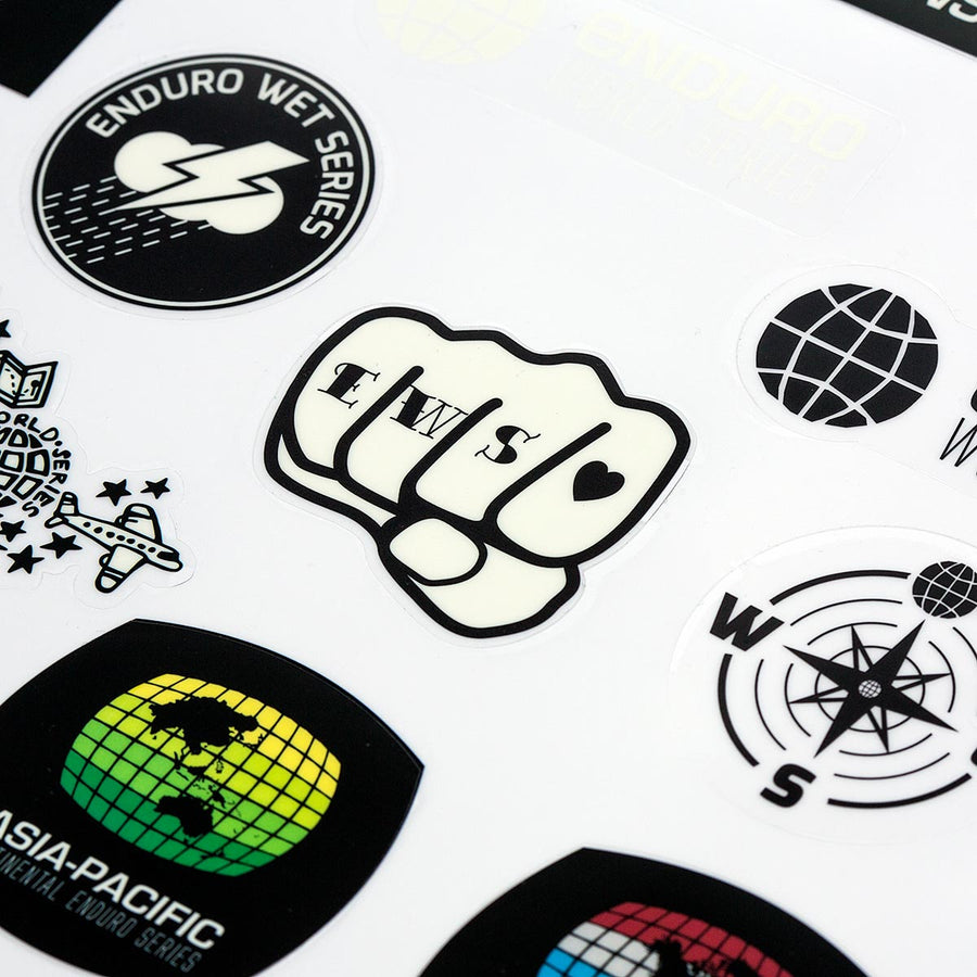 SALE EWS Sticker Sheet - HALF PRICE