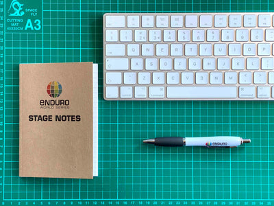 Gift bundle pack: Classic EWS logo Mug and EWS Stage Notes notebooks