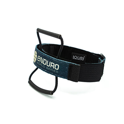 Louri EWS Frame Strap for packless mountain bike riding and lightweight enduro racing