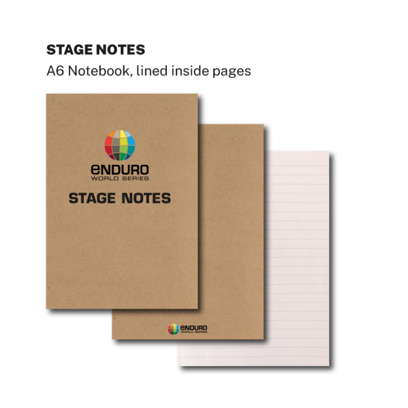 EWS Stage Notes A6 Notebook