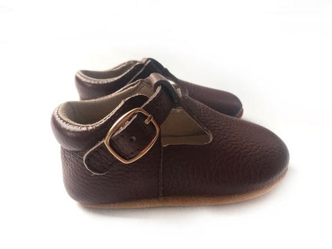 West Coast Moccs- Mary Jane- Brown