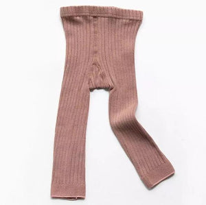 West Coast Moccs Footless tights- Blush