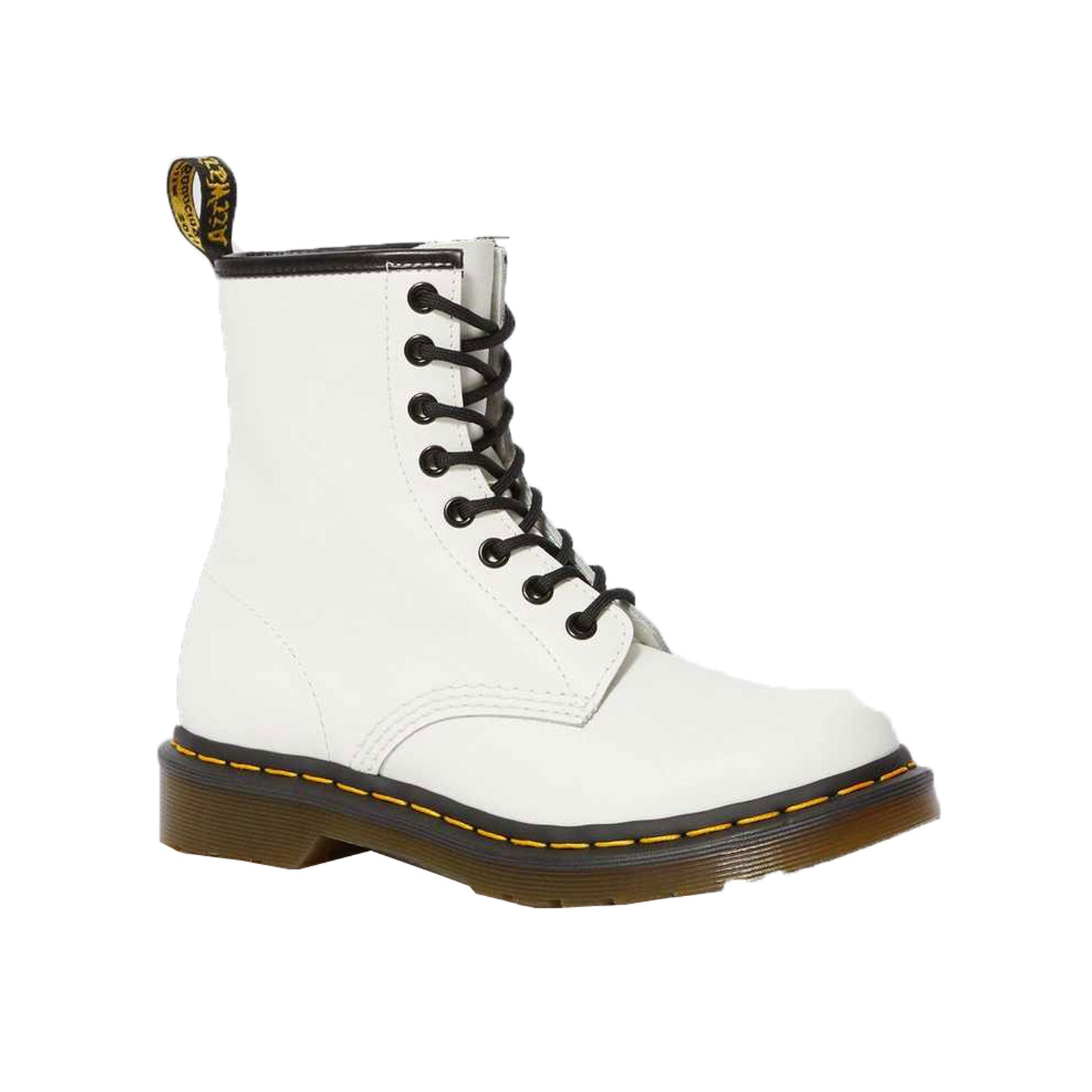 DR. MARTENS 1460 8 EYE 11821100 (WHITE SMOOTH)
