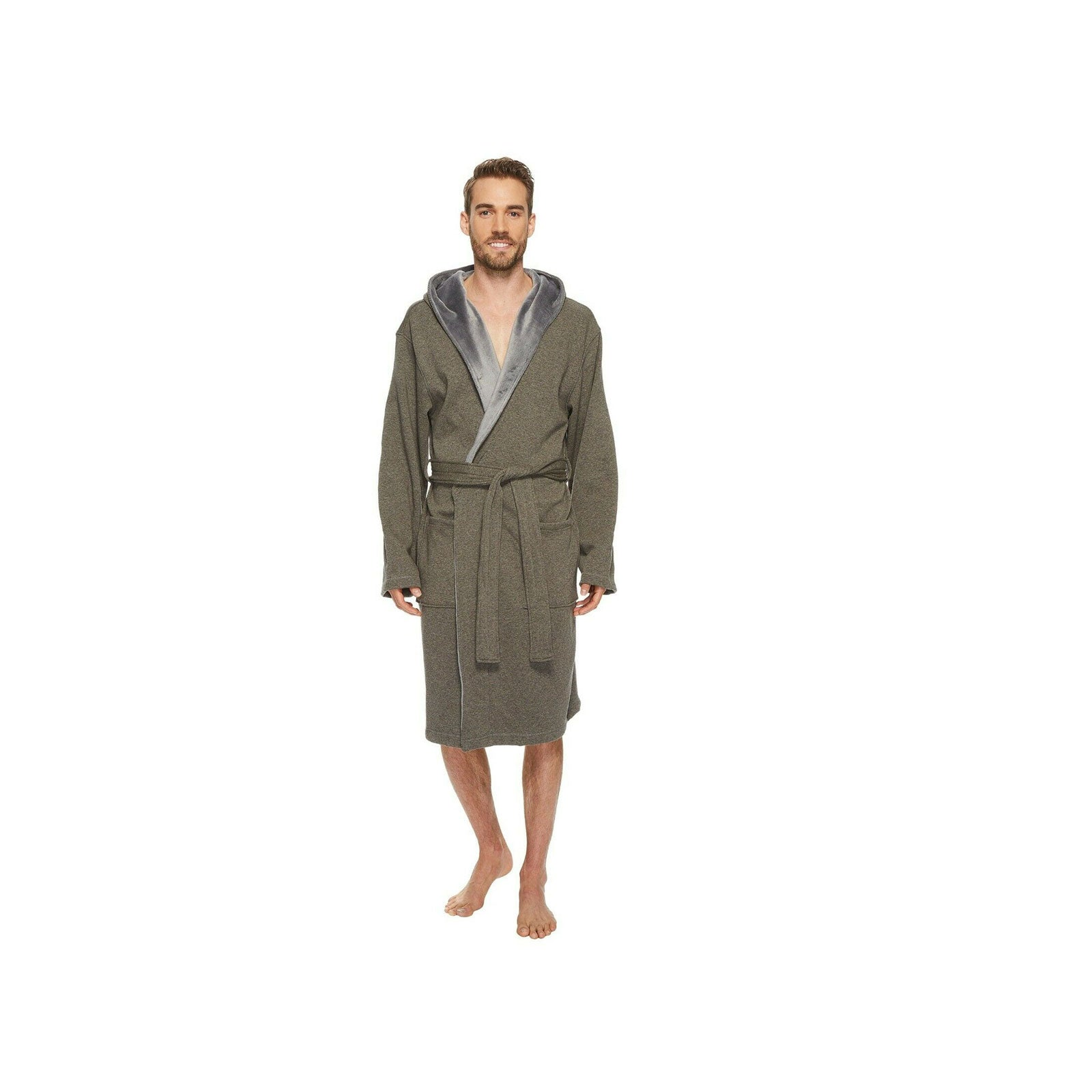 UGG Brunswick Robe-Rock Ridge Heather