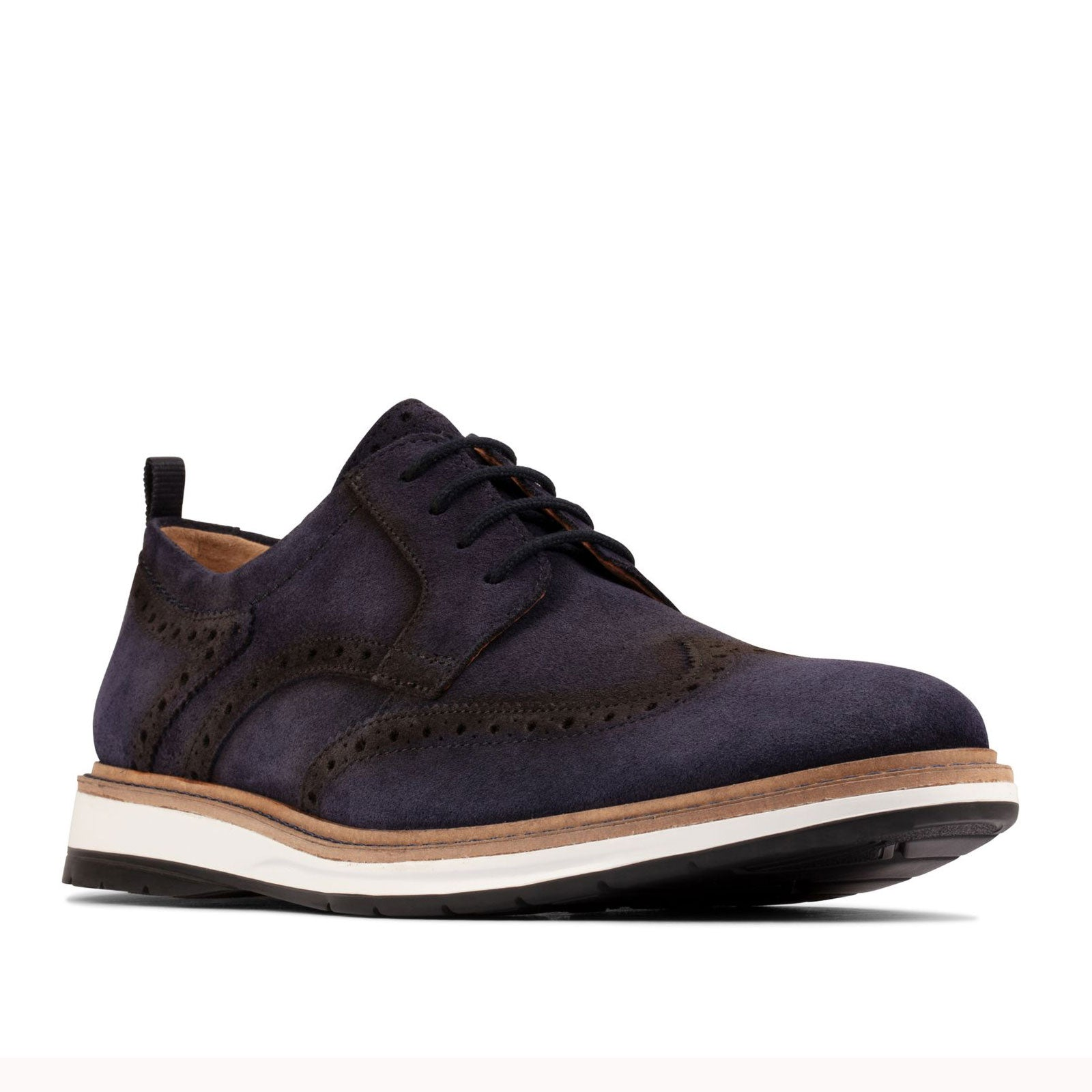 Clarks Chantry Wing 55073 (Navy Suede)