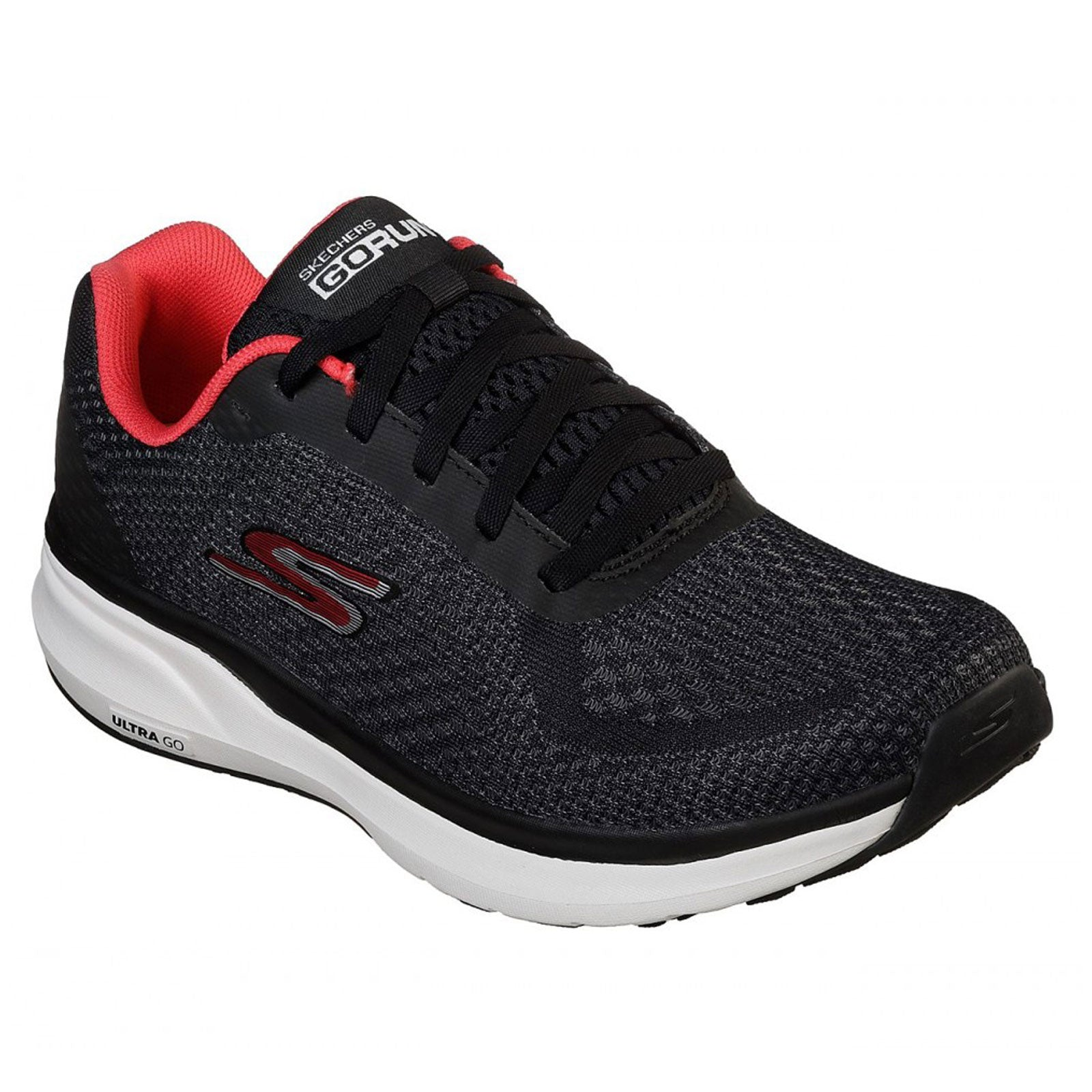 Skechers Go Run Pure-Black/Hot Pink