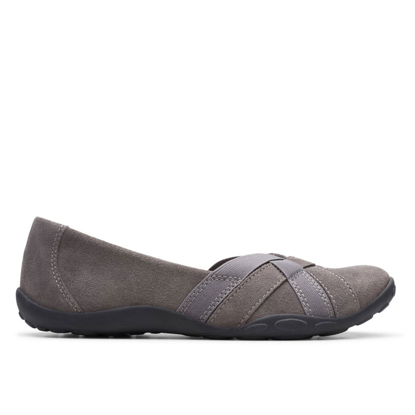 Clarks Haley Jay 46932 (Gray Suede)