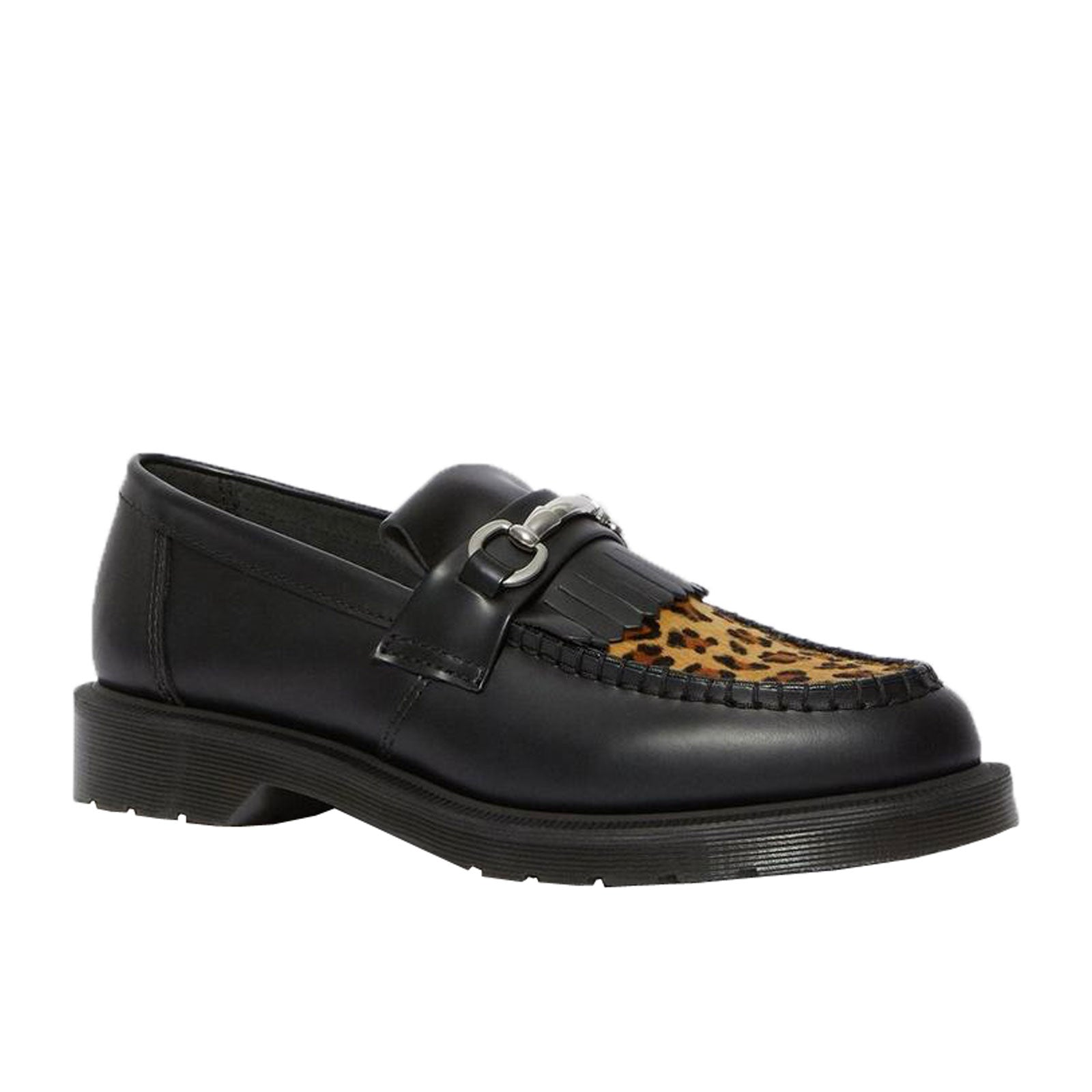 Dr. Martens Adrian Snaffle 25025001-Black and Medium Leopard