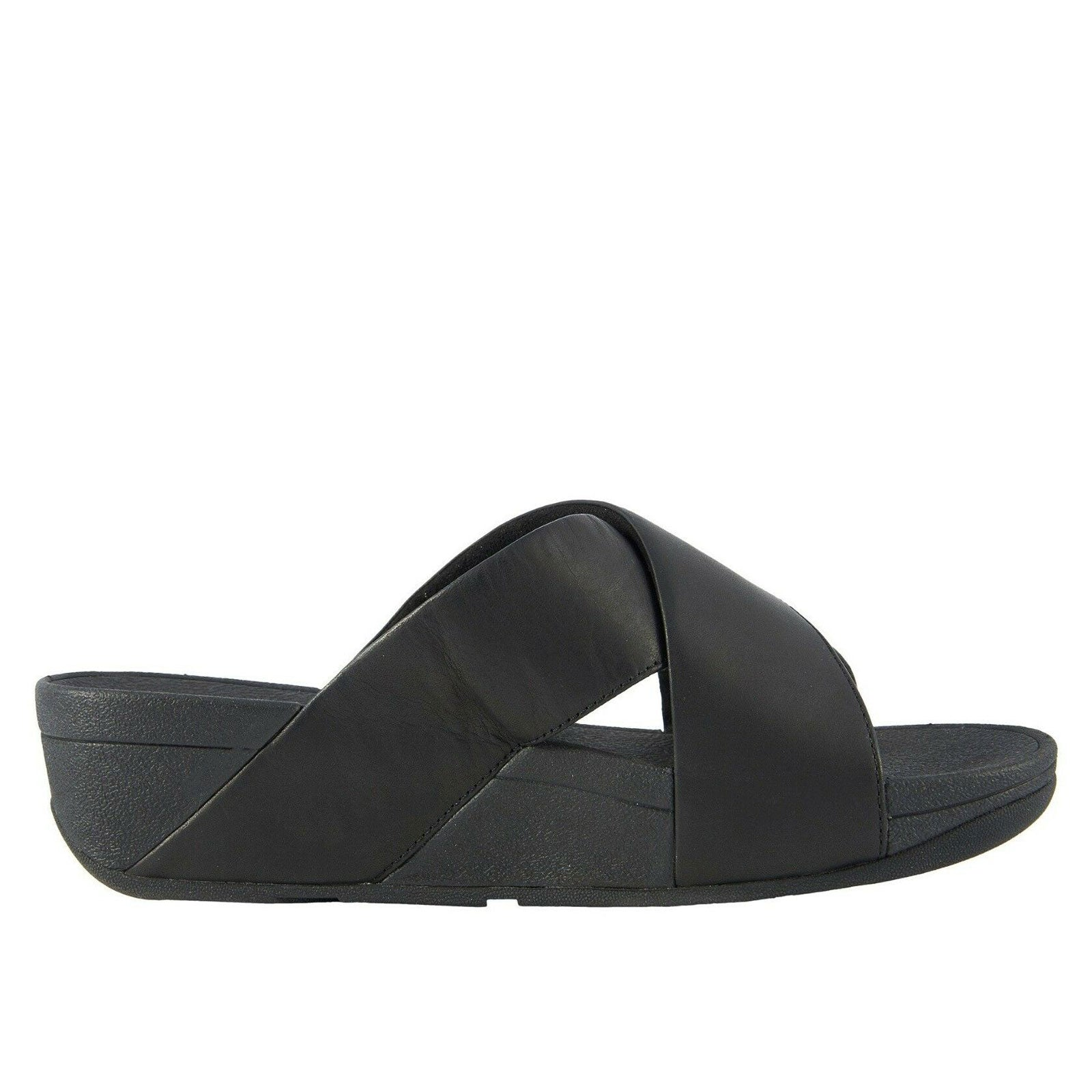 Fitflop Lulu Cross Slide K04-001 (Black)