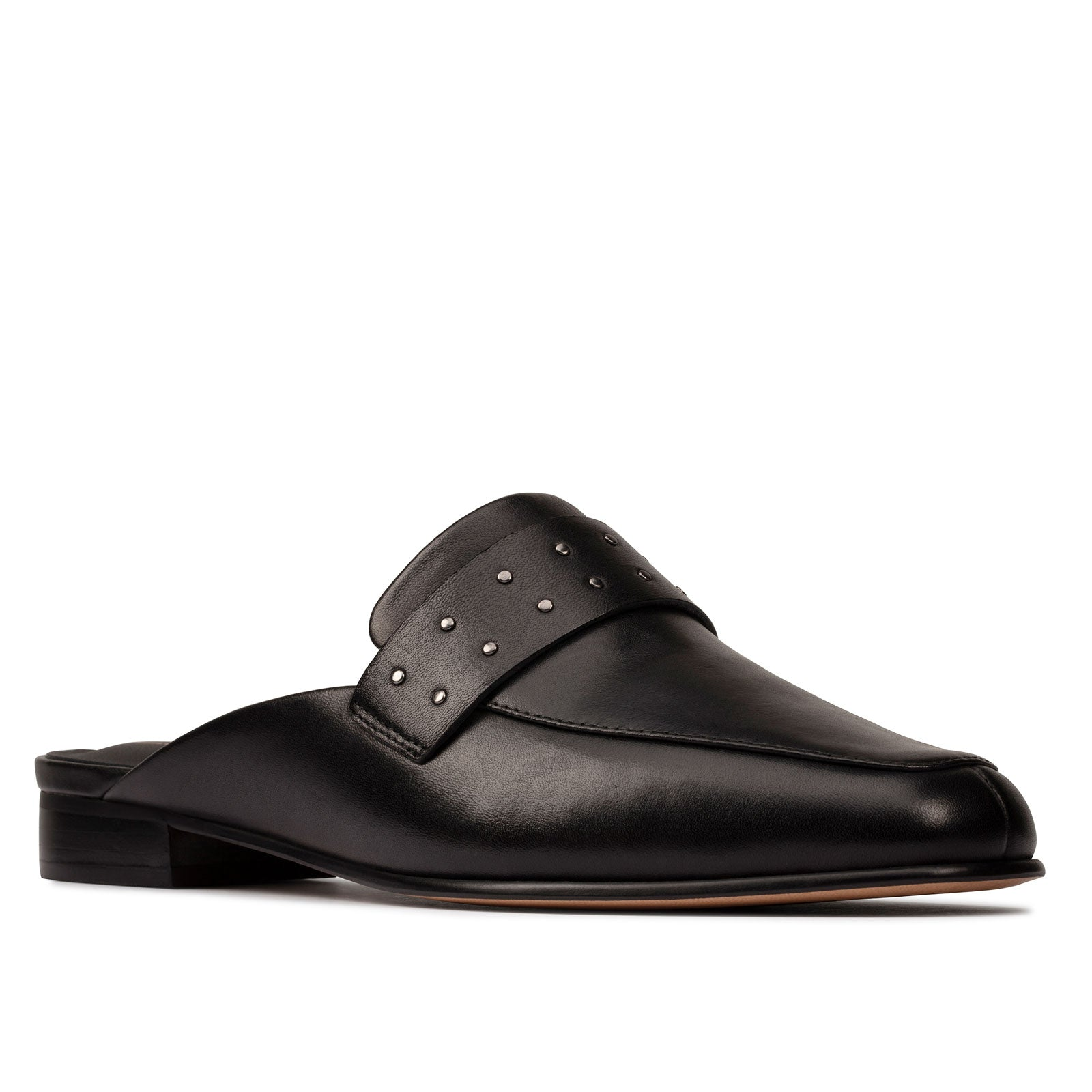 Clarks Pure Mule 50382 (Black Leather)