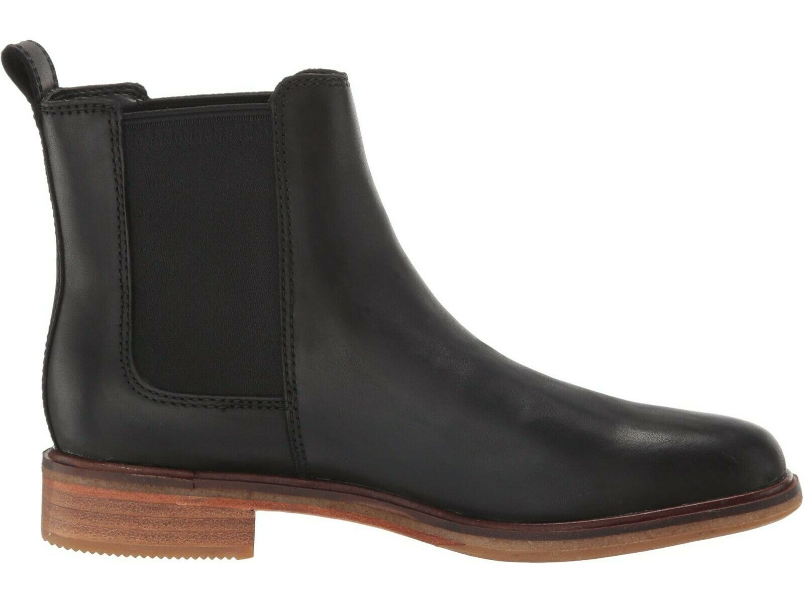 Clarks Clarkdale Arlo 46272-(Black Leather)