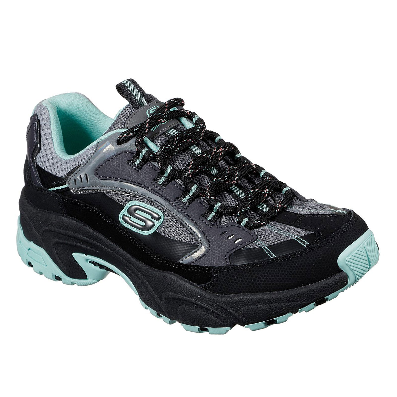 Skechers Stamina-Lower Creek 149017 (Black / Mint)