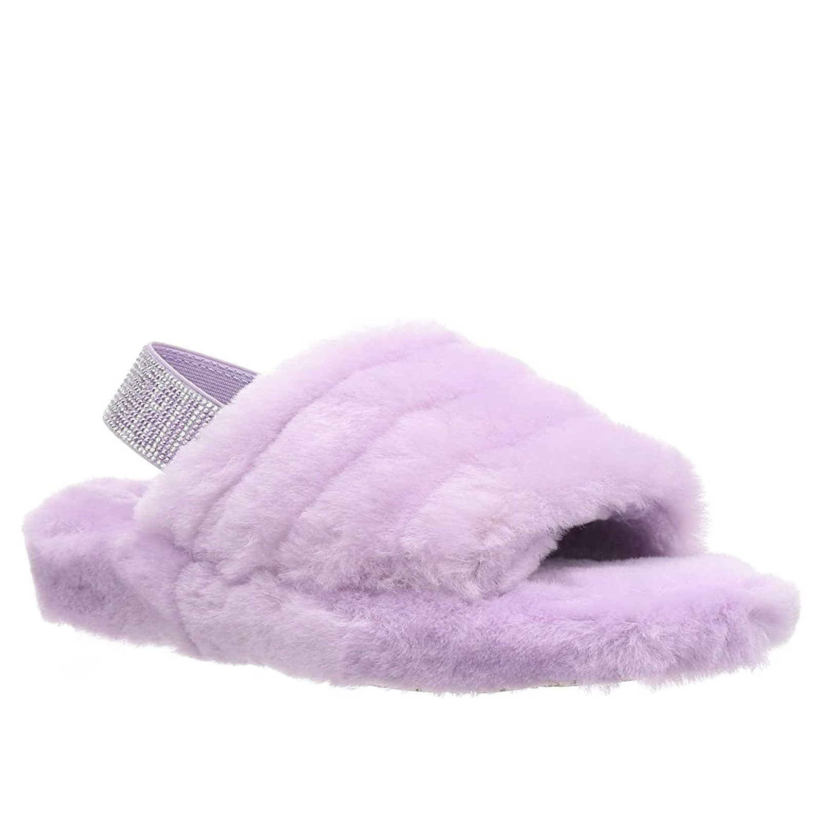 UGG Fluff Yeah Bling-Lilac Frost