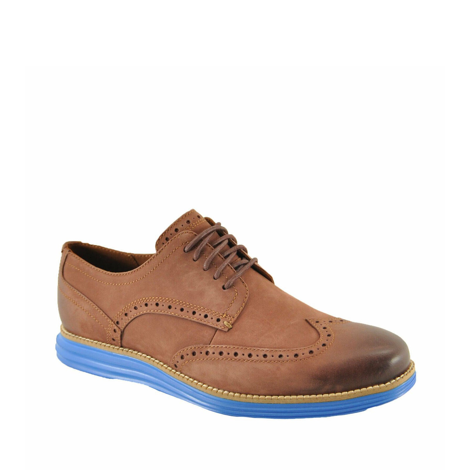 Cole Haan Original Grand Wingtip Oxford- Chestnut