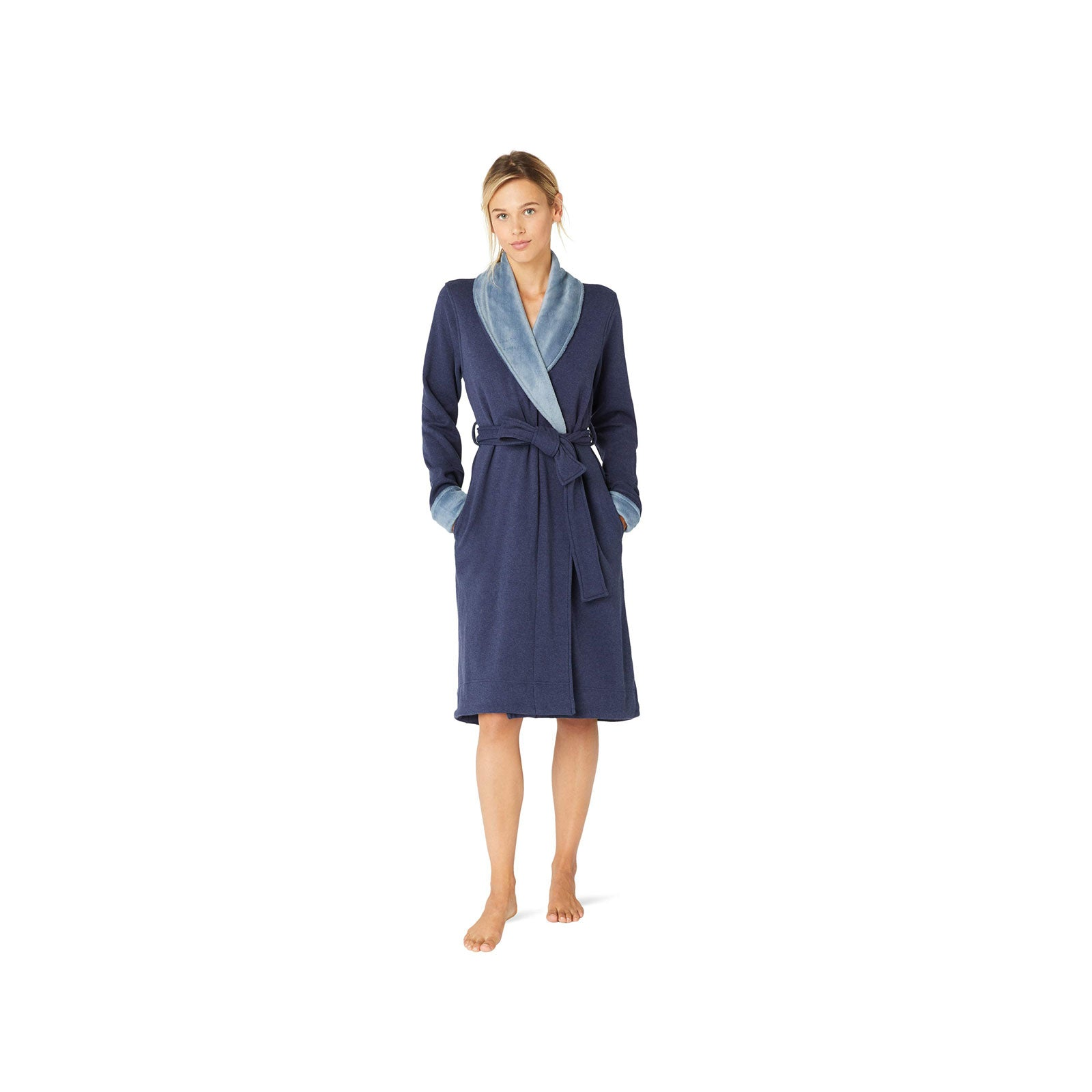 UGG Duffield Robe -Navy Heather