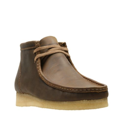 Clarks Wallabee Boot 34196-(Beeswax Leather)