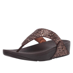 Fitflop Lulu Glitter  X03-806 (Chocolate Metallic)