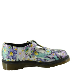Dr. Martens Women's Polley Slime Floral