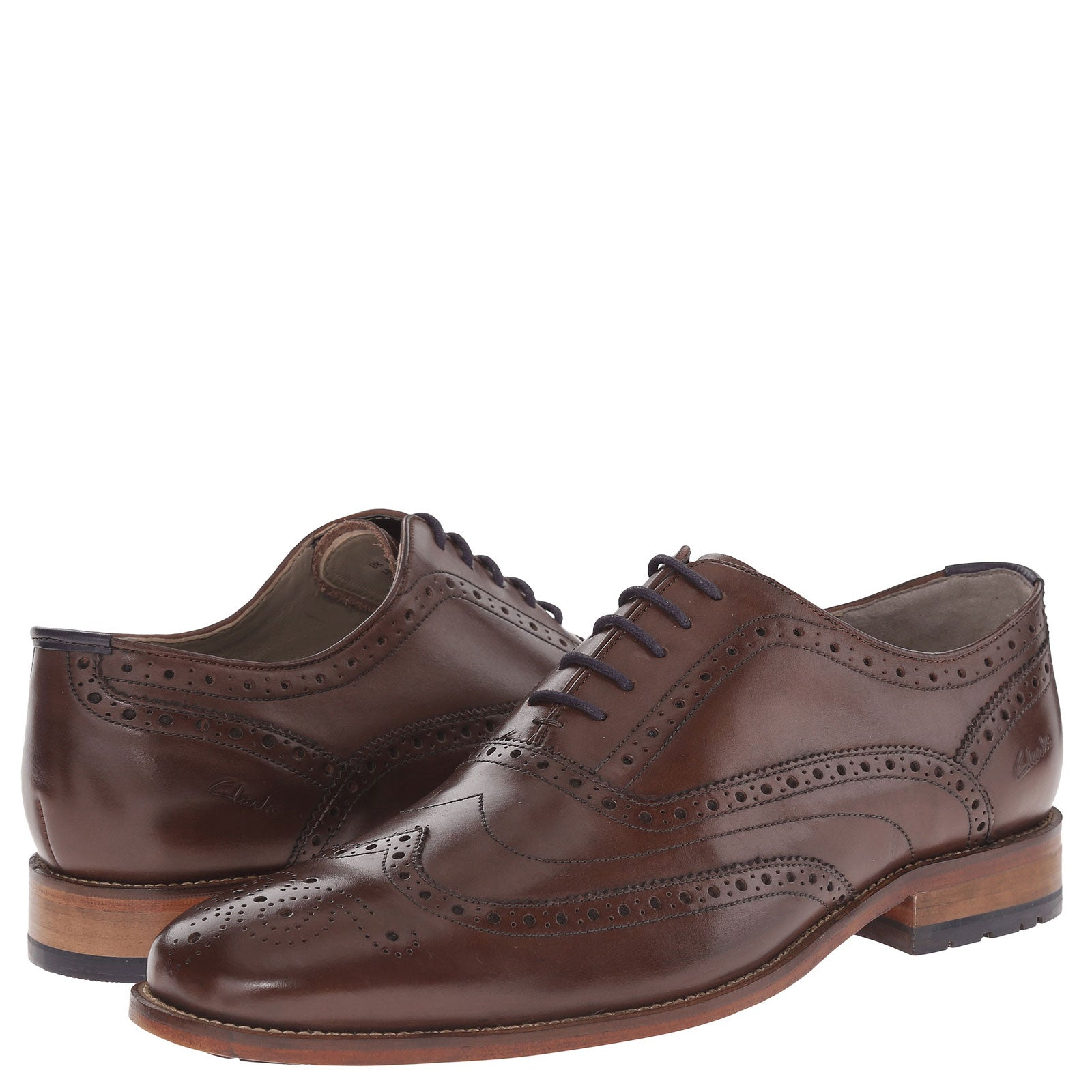 Clarks Penton Limit Chestnut Aubrey