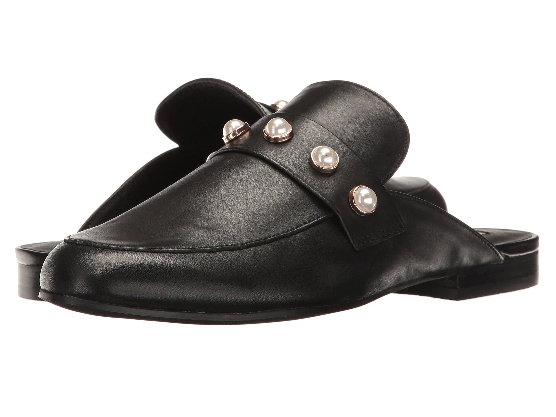 Steve Madden Kandi-P-Black Leather