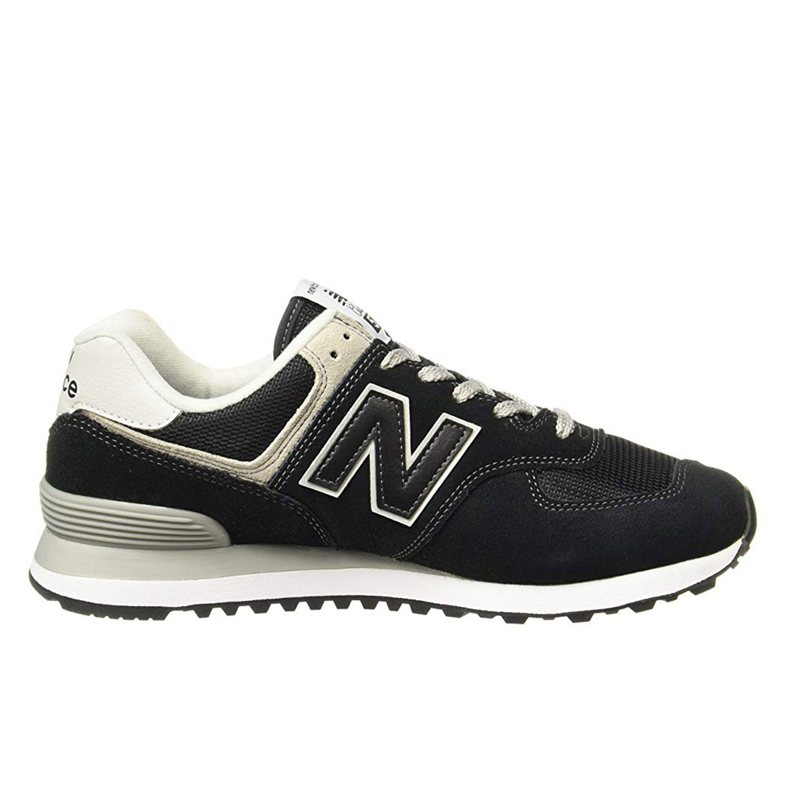 New Balance Classics 574-Black With White